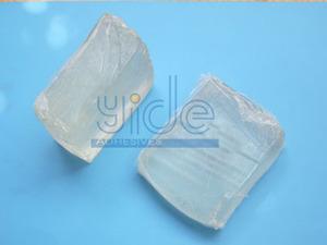 Plastic non-woven adhesive